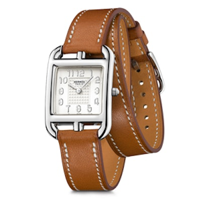 Steel and Leather Cape Cod Watch