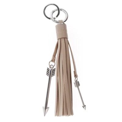 Tassel Sand Leather Charm/Key Chain