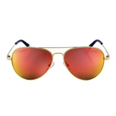 Bronson Gold With Fire Orange Mirror Lens