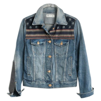 Patched Jean Jacket