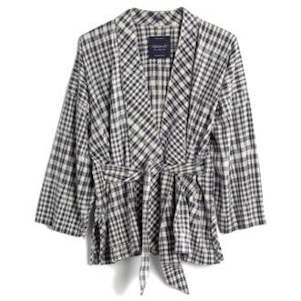 Kimono Jacket in Gingham