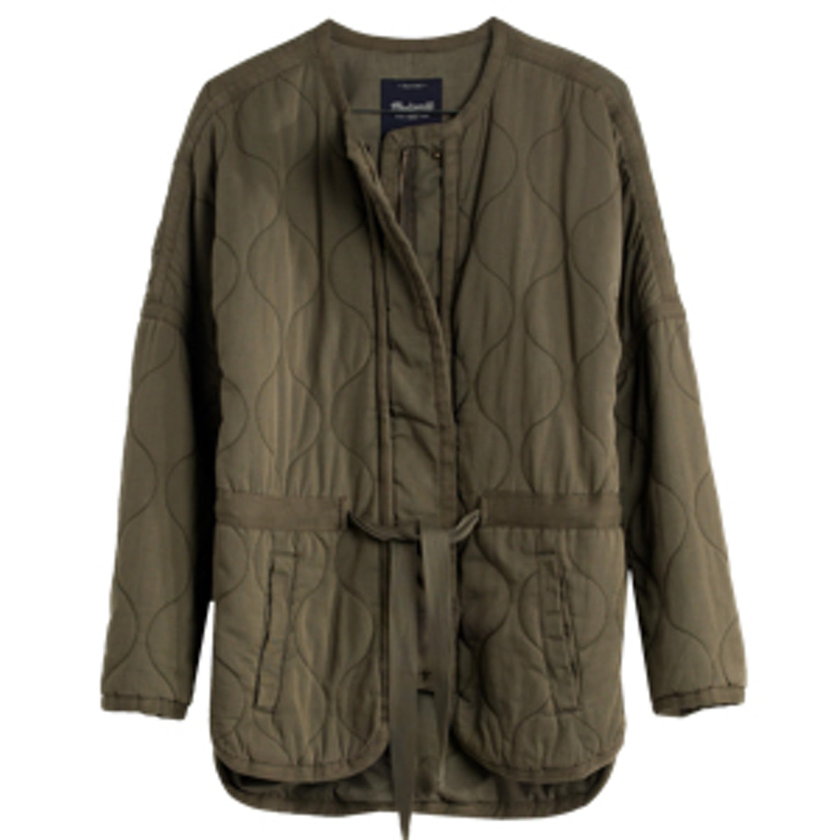 Quilted Drawstring Jacket