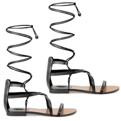 Strappy Cord Sandals