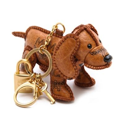 Heritage Dog Charm Keychain