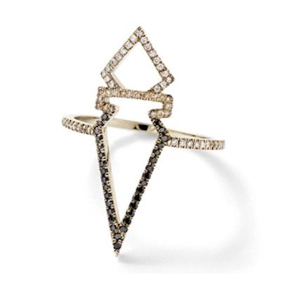 Ombré Diamond Open Ring