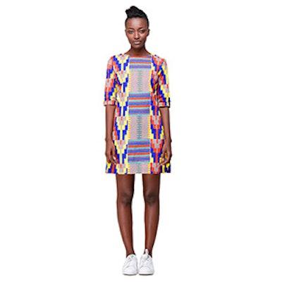 Muto Dress in Kente Wax Print