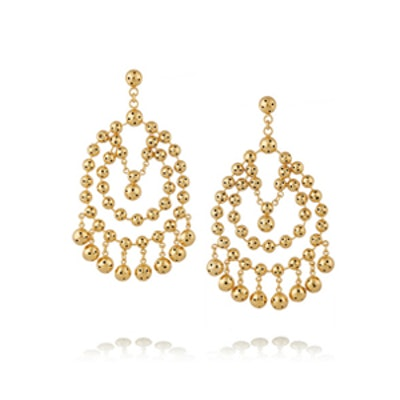 Barcelona Gold-Plated Earrings