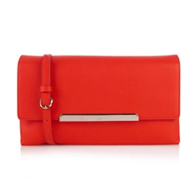 Rougissime Leather Cross-Body Bag