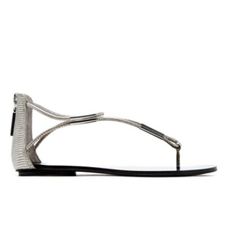 Marnie Sandals in Silver