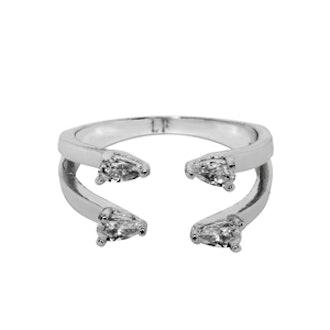 2-Line Ava Ring