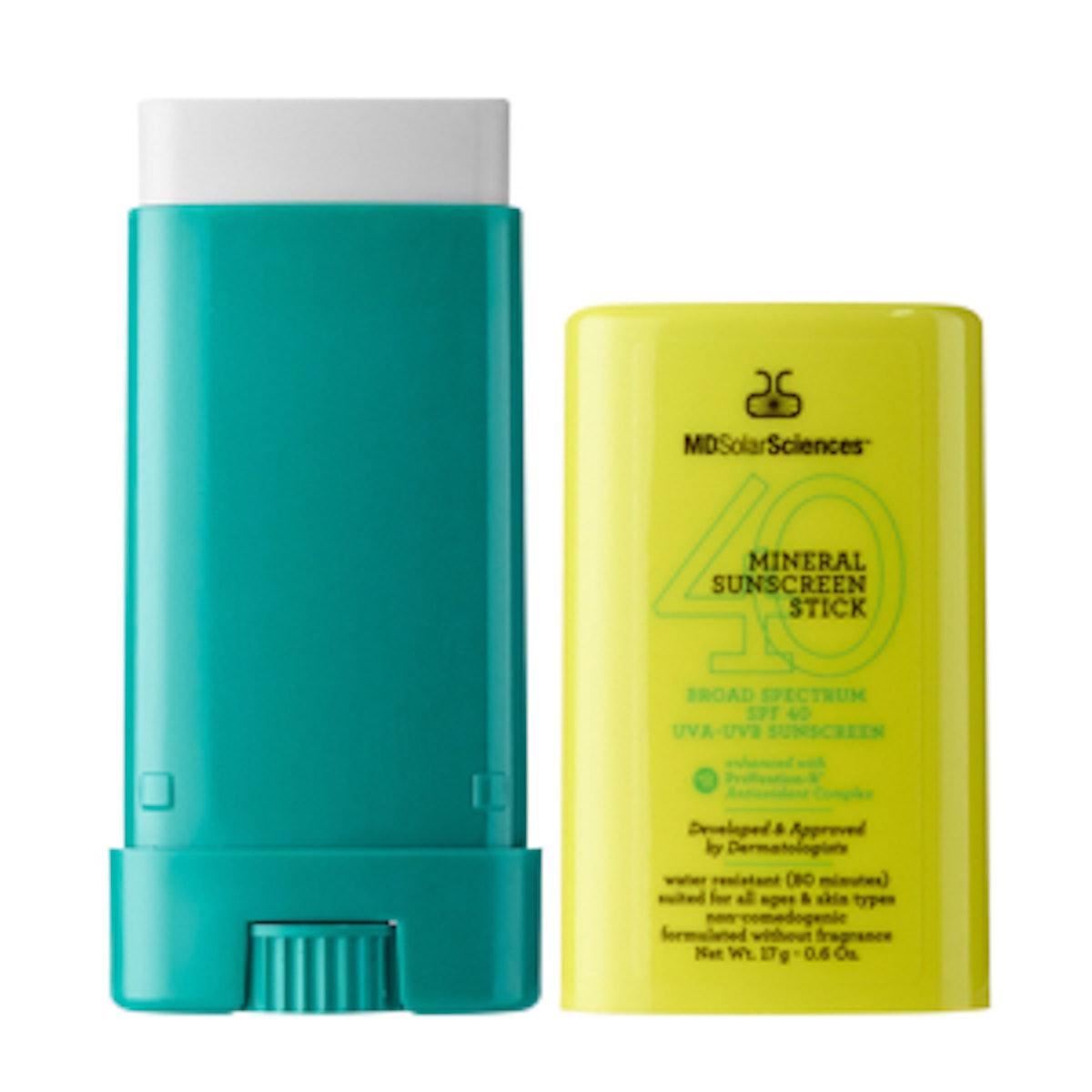 Mineral Sunscreen Stick Broad Spectrum SPF 40