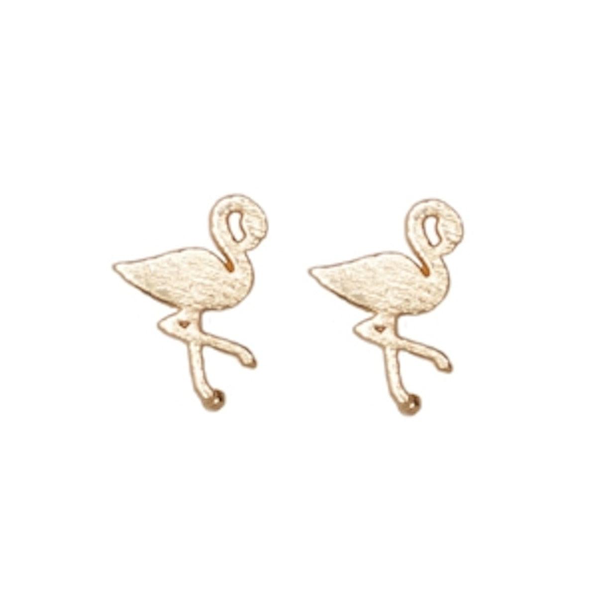 Figi Earrings in Gold
