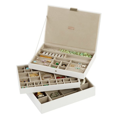 White Supersize Jewelry Stackers