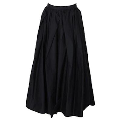 Satin Poplin Skirt