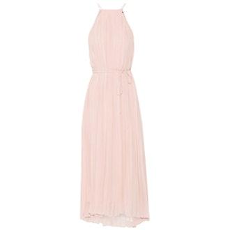 Simone Pleated Silk-Chiffon Dress