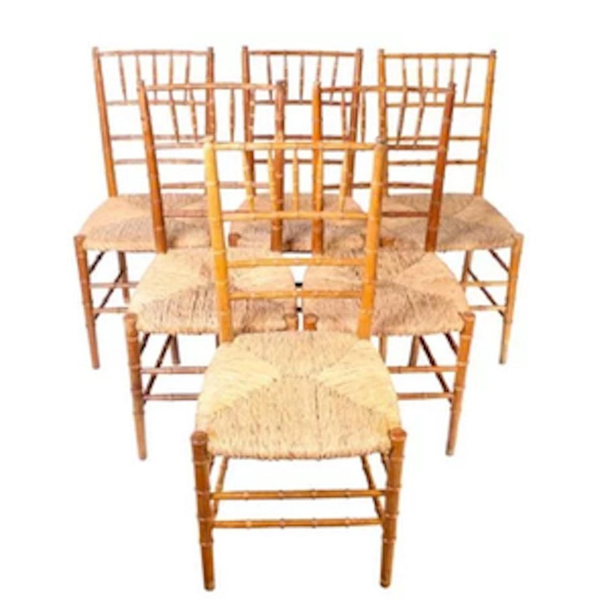 Set of 6 Chiavari Chairs