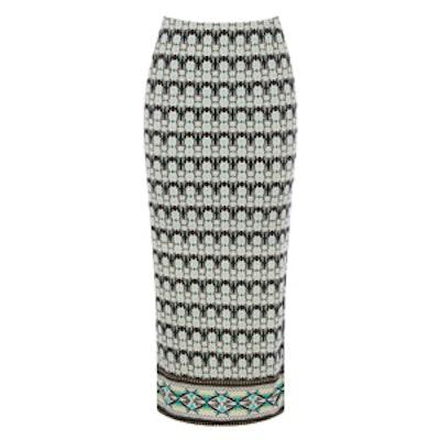 Mirrored Tile Tube Skirt
