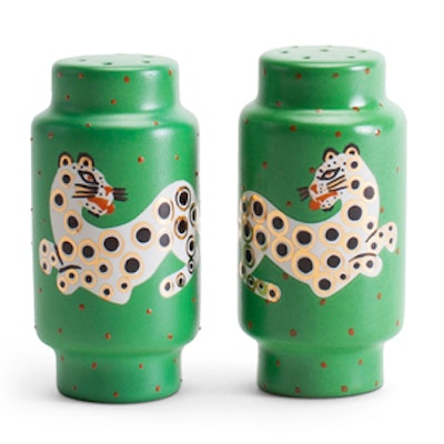 Leopard Salt and Pepper Shakers