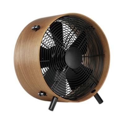 African Sapele Wood Fan
