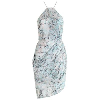 Fortune Marble Drape Dress