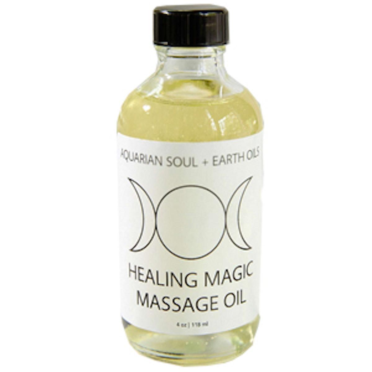 Healing Magic Gemstone Massage Oil