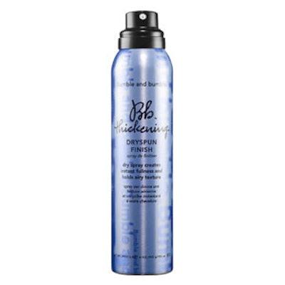 Thickening Dryspun Finish Hairspray
