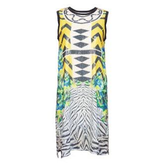 Brenda Sequin Toucan Dress