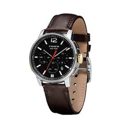 Bleecker Chrono Stainless Steel Strap Watch