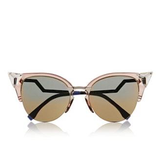 Crystal-Embellished Sunglasses