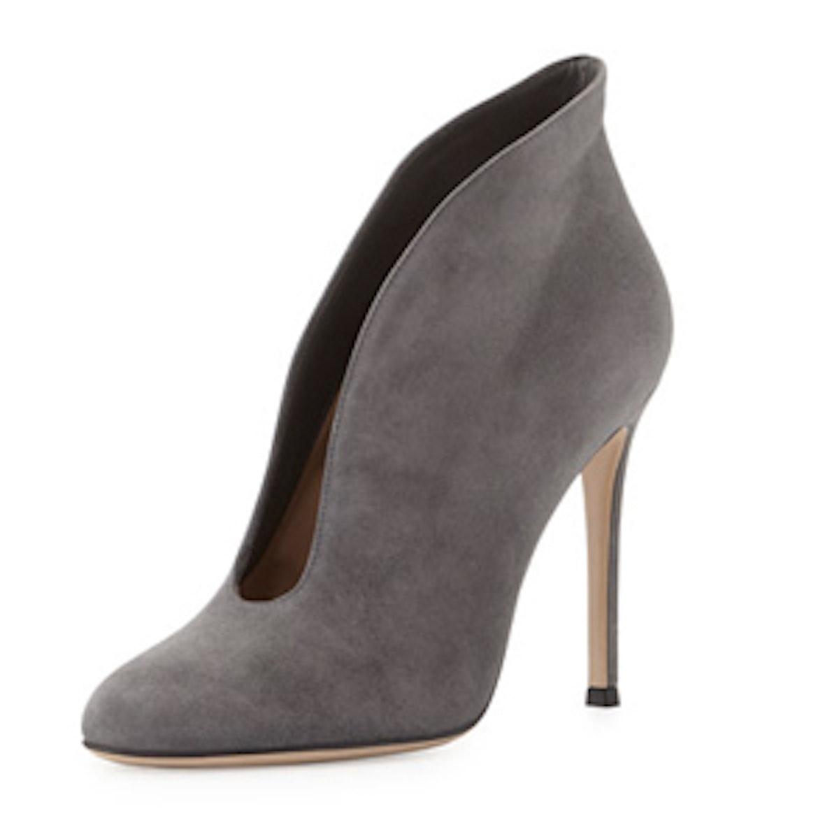 V-Neck Ankle Boot
