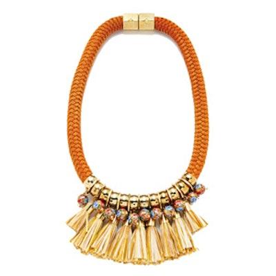 Hula Fringe Necklace