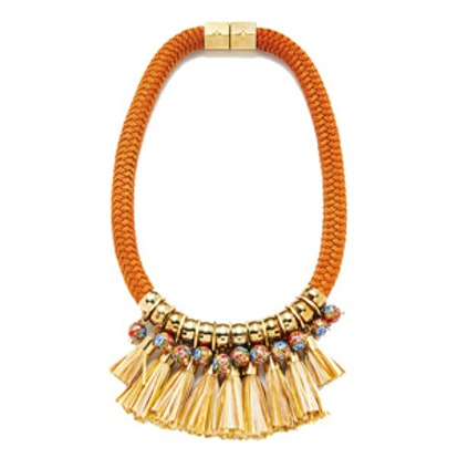 Hula Fringe Necklace