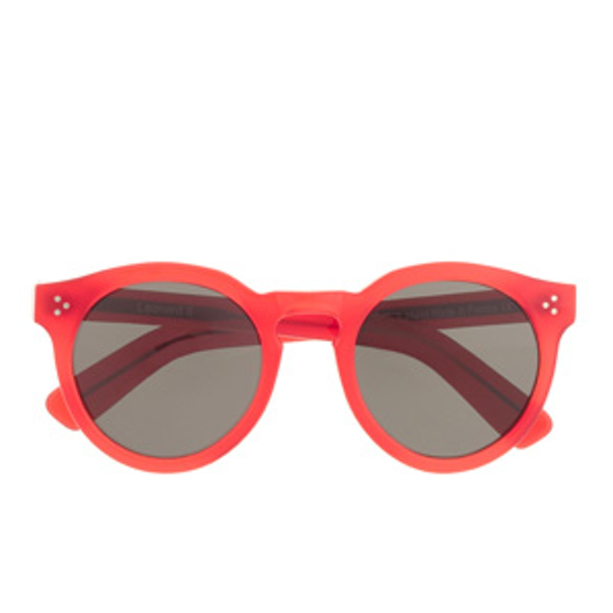 Leonard II Red Sunglasses