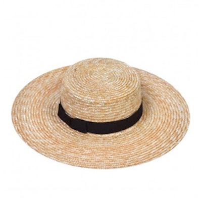 Spencer Boater Hat
