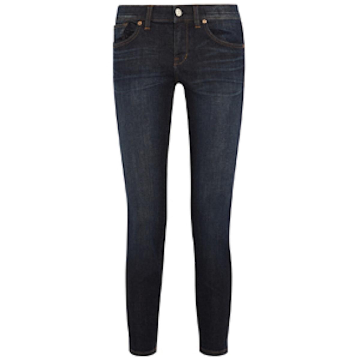 Skinny Midrise Jeans