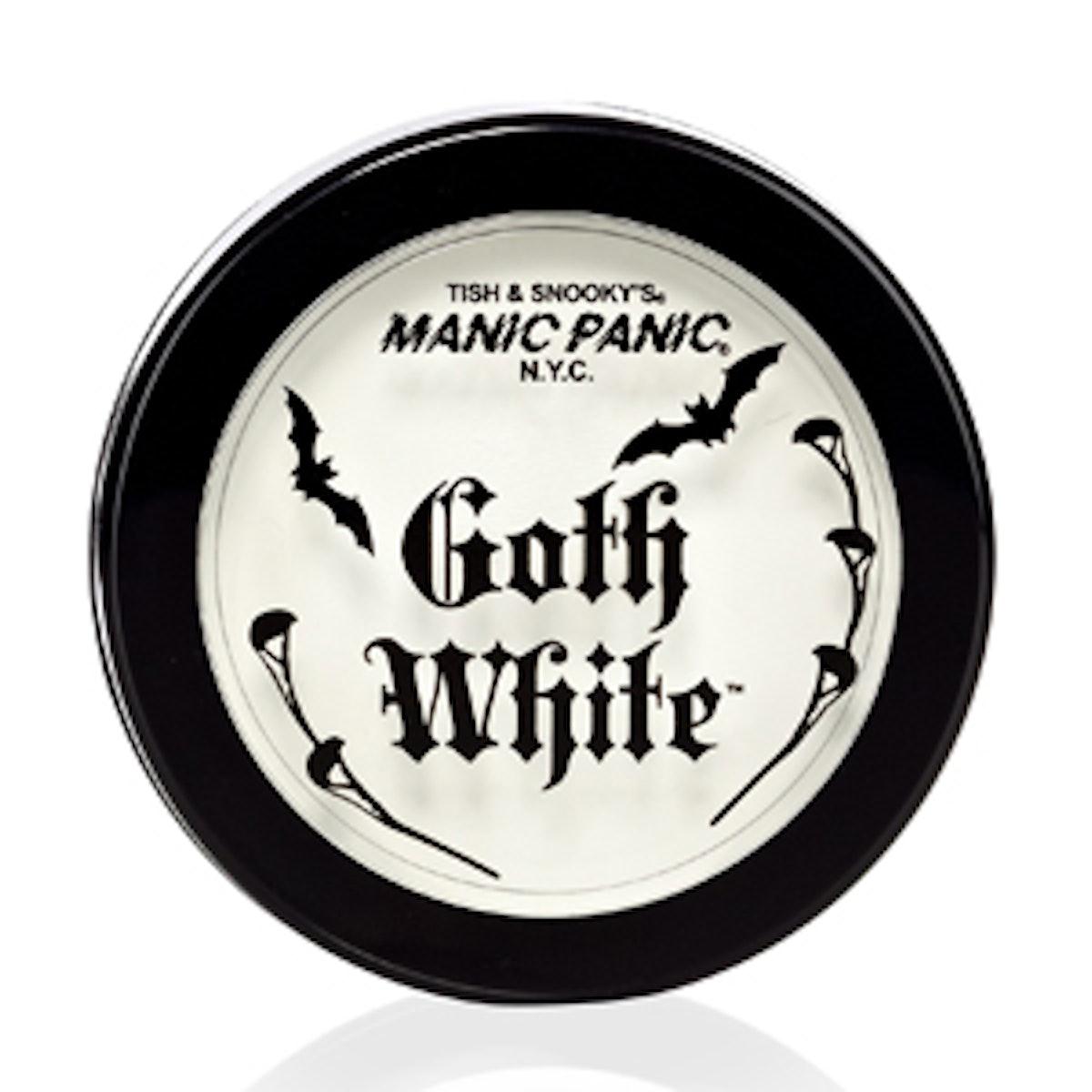 Goth White Cream Powder Foundation
