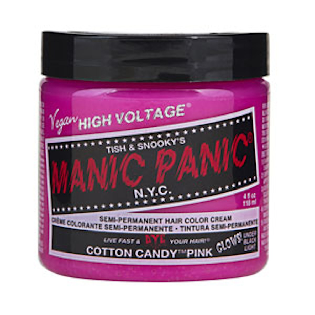 Hair Color Cream in Cotton Candy Pink