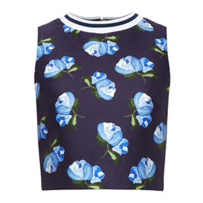 Morley Floral-Print Cropped Top