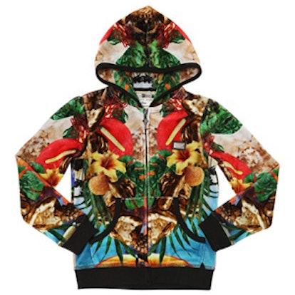 Toucan Paradise Chenille Sweatshirt