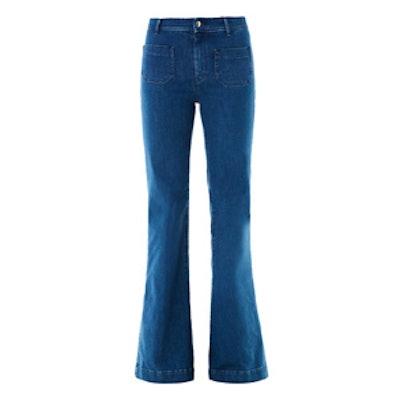Penelope Flared-Leg Jeans
