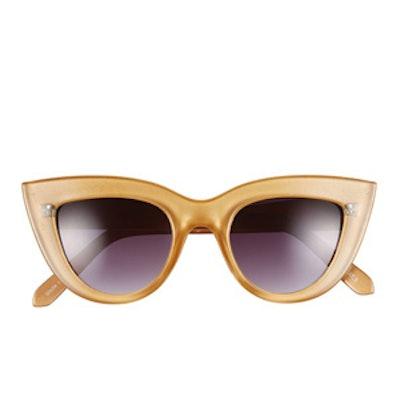 42mm Cat Eye Sunglasses