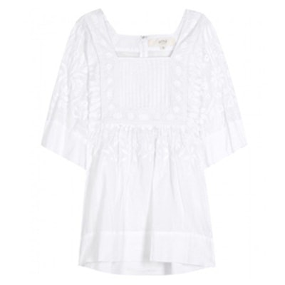 Charles Embroidered Top