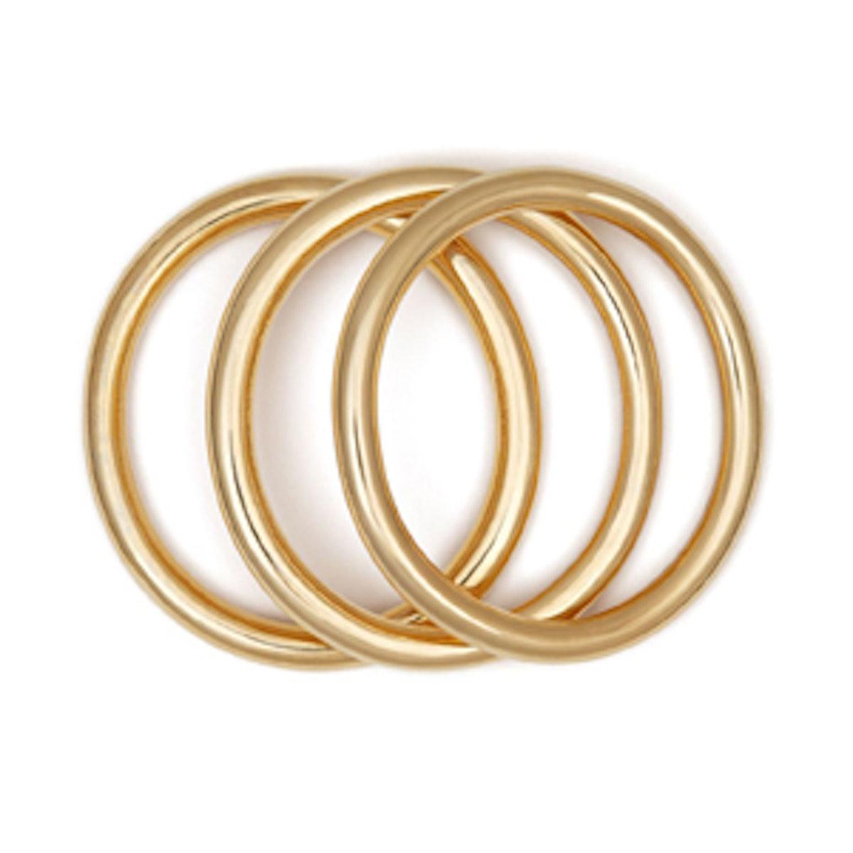 Day Essentials Gold Bangles