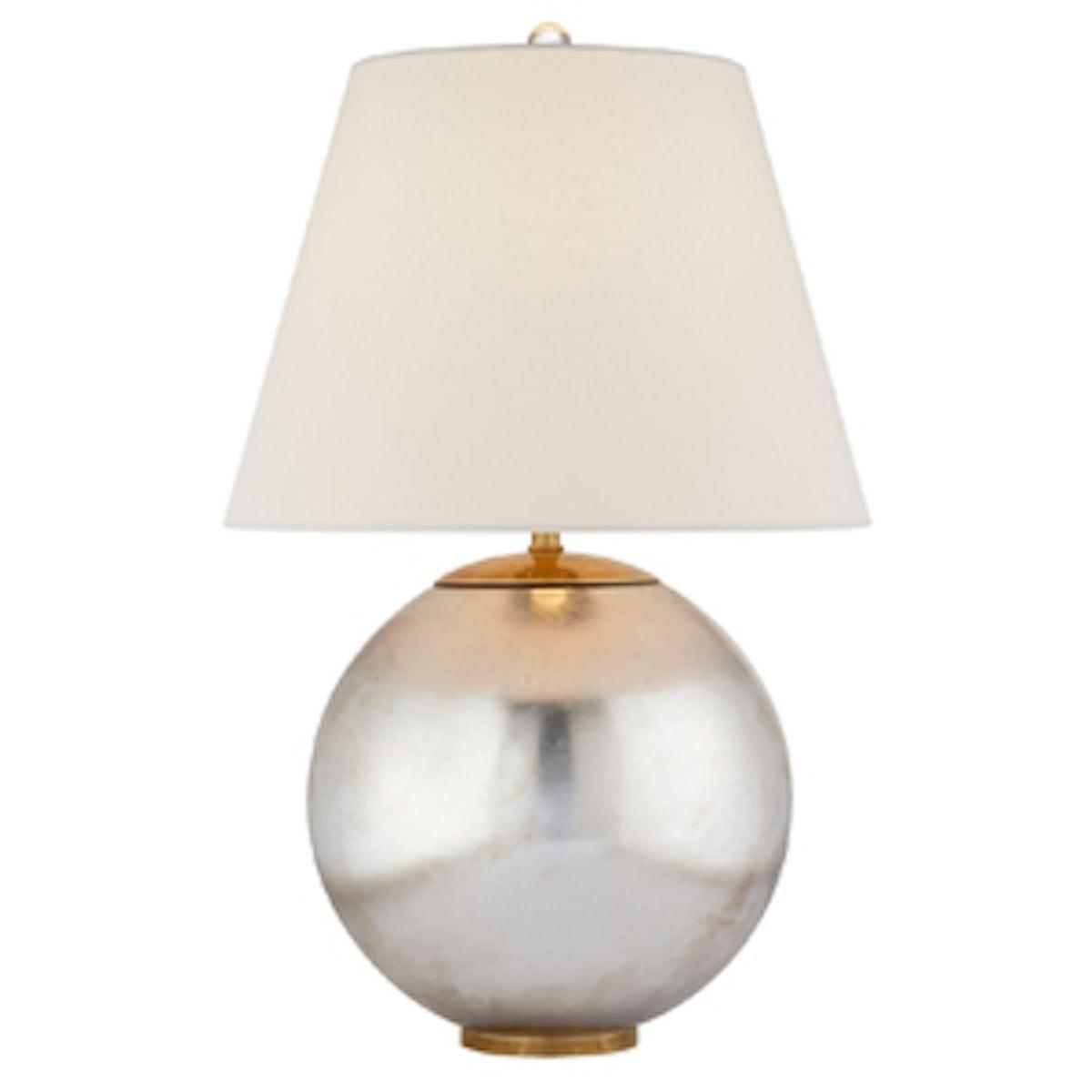 Morton Table Lamp in Silver