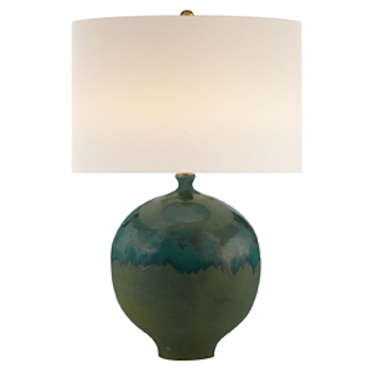 Gaios Table Lamp in Volcanic Verdi