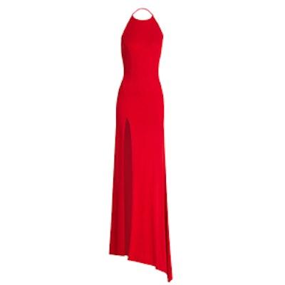Jersey Halterneck Gown