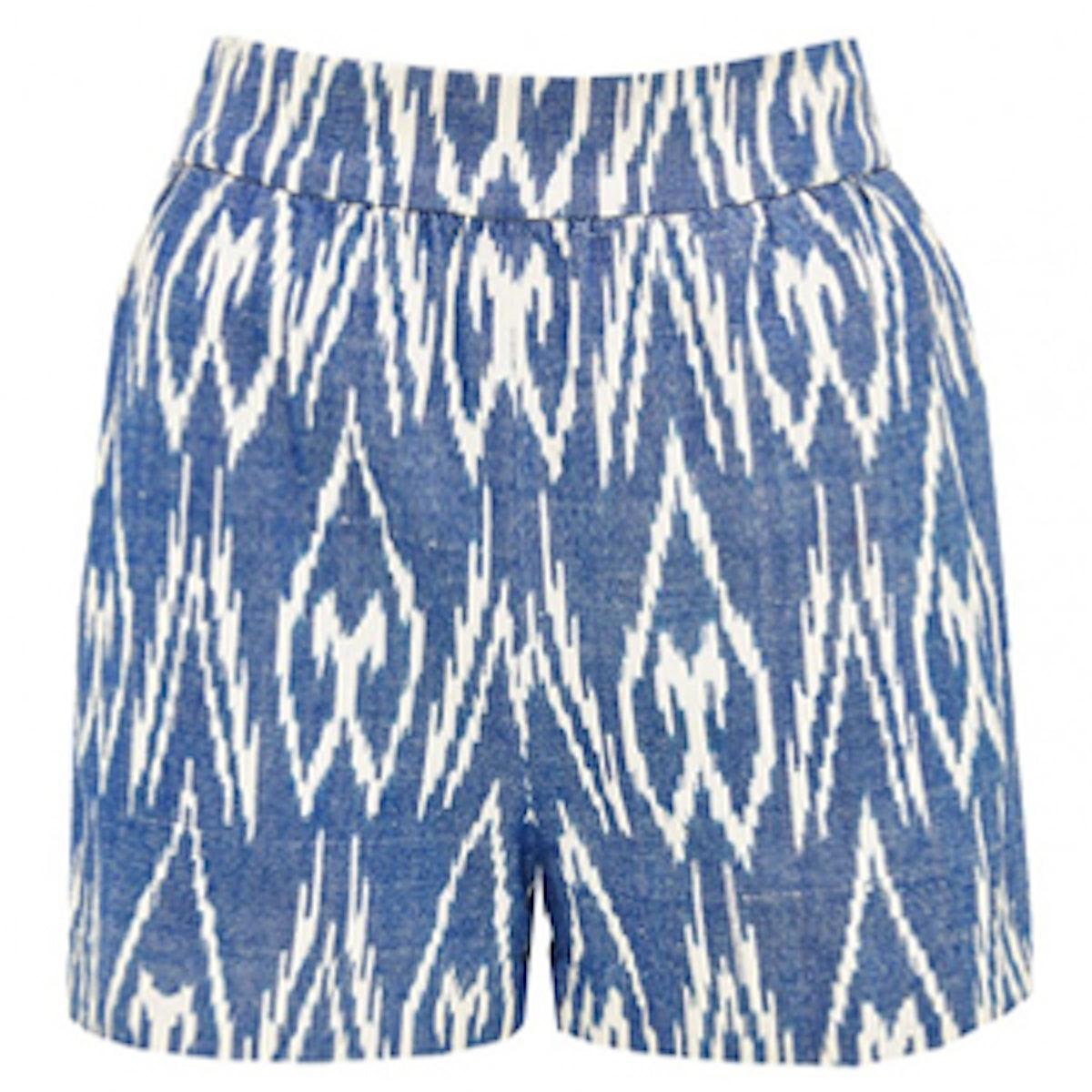 Gathered Shorts