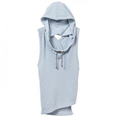 Exhale Hoodie in Ice Blue