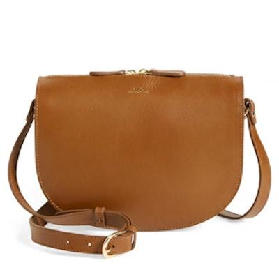 Sac Andrea Leather Cross-Body Bag