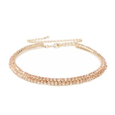 Jewel-Row Choker Necklace
